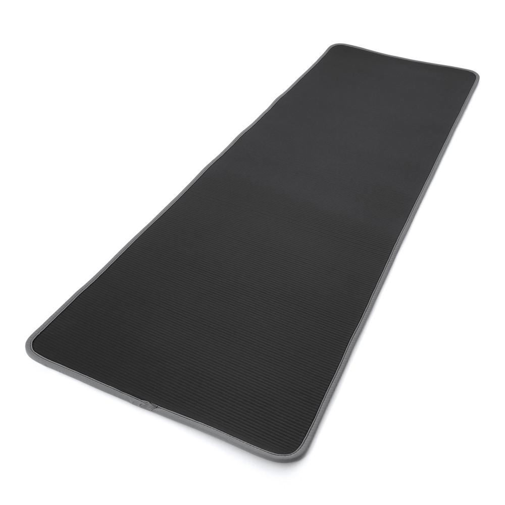 adidas black and grey training mat