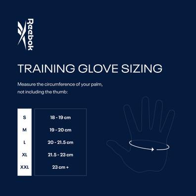 Reebok Training Gloves Sizing Chart