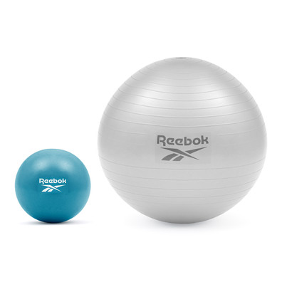 Reebok teal mini gym ball