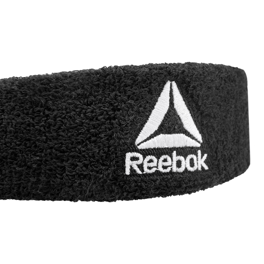 Black Reebok Sweatband