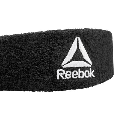 Black Reebok Sweatband