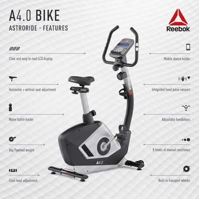 Reebok A4.0 Bike Features