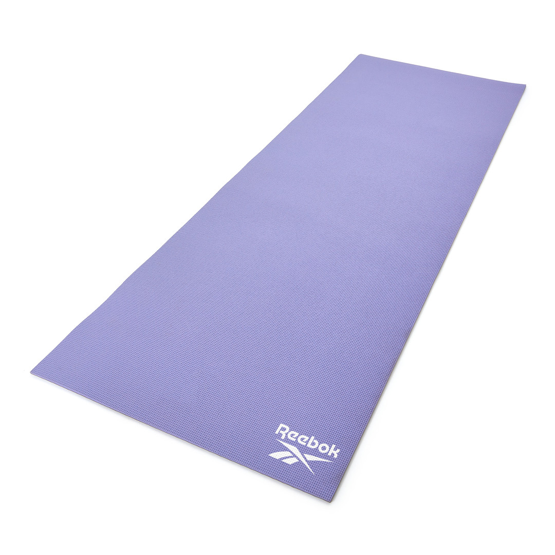 Reebok 6mm purple and grey yoga mat
