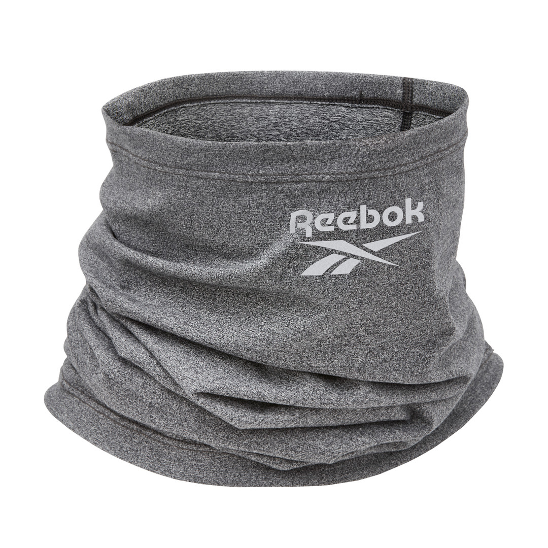 Reebok grey marl neck warmer