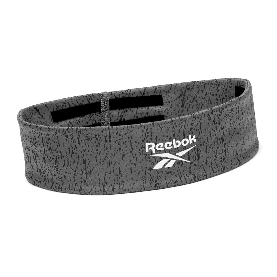 Reebok yoga grey patterned headband