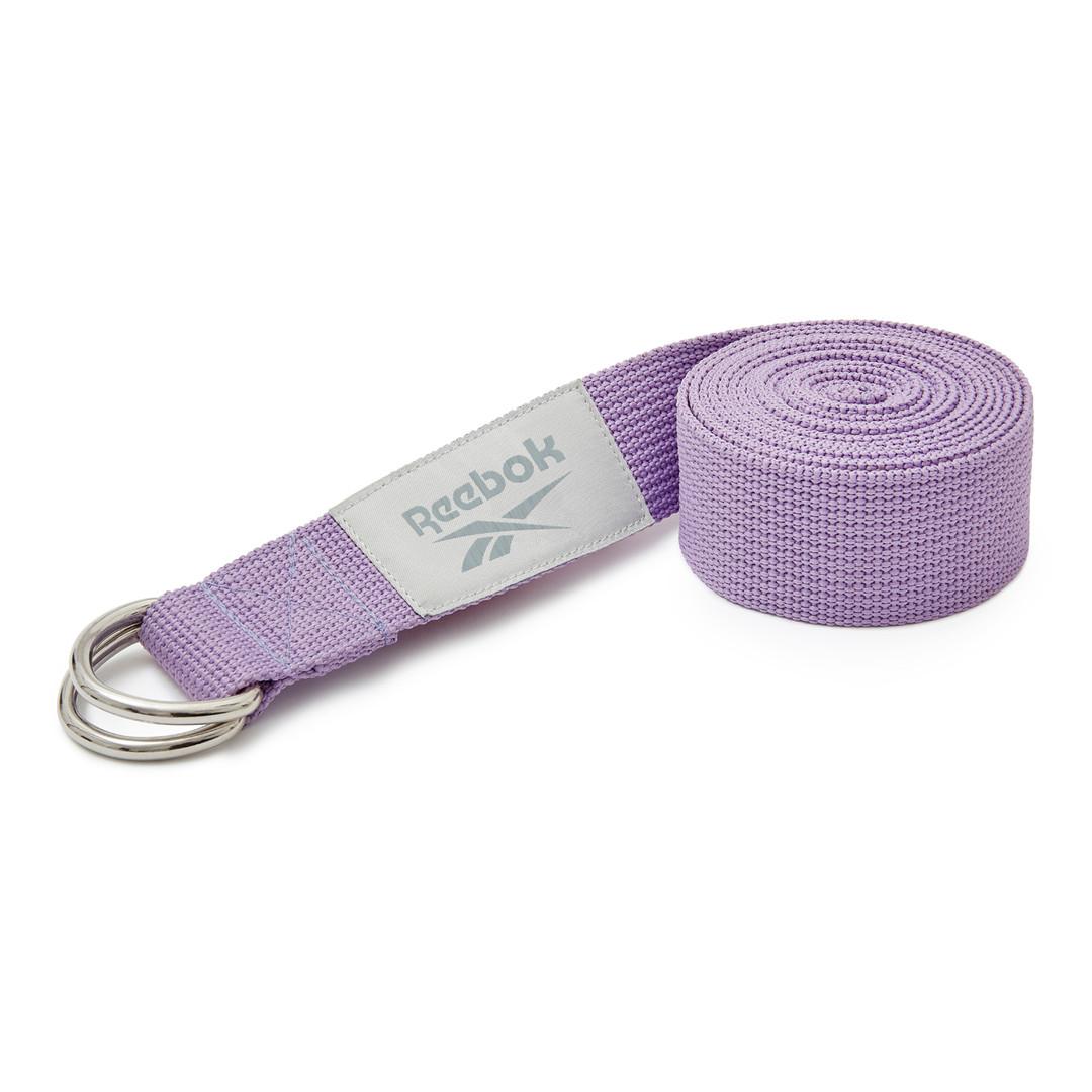 Purple Reebok yoga strap