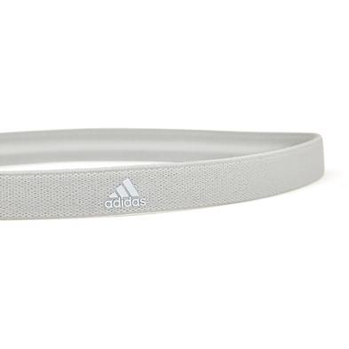 adidas light grey sports hairband
