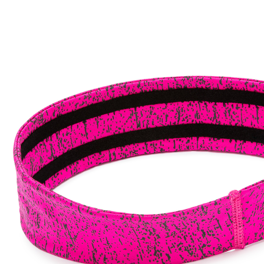 Reebok yoga pink patterned headband