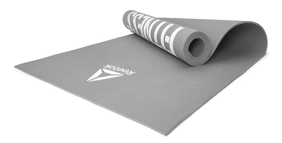 Reebok training 'Love Fitness' grey fitness mat