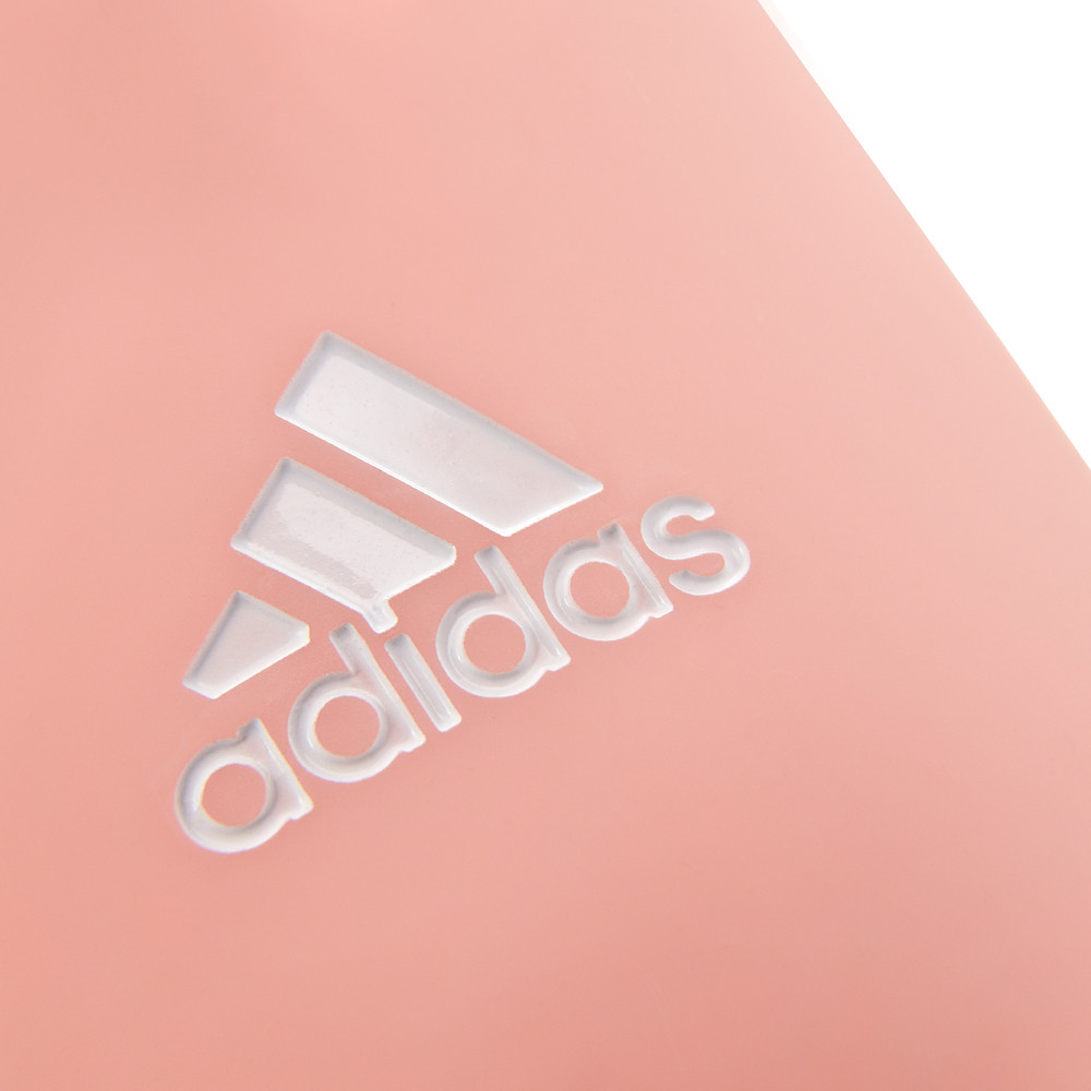 adidas pink glass and silicone water bottle
