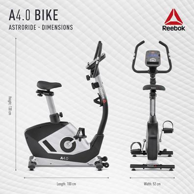 Reebok A4.0 Bike Dimensions