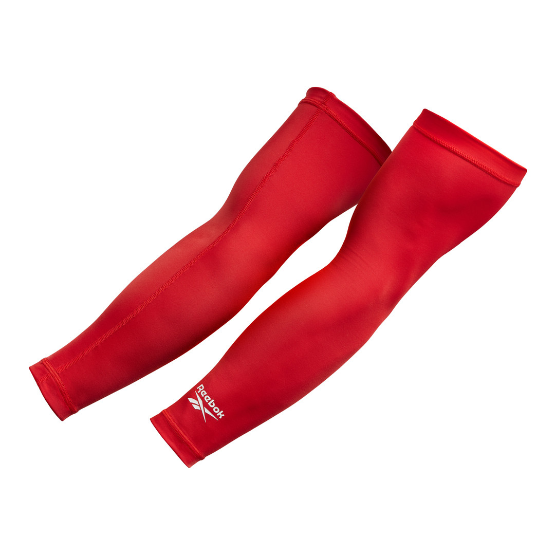 Red Reebok Arm Sleeves