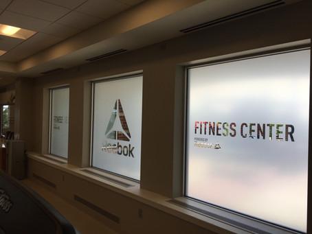 Reebok Fitness Center in Boston Marriott Quincy