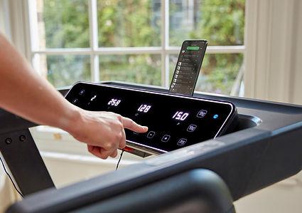 Reebok Floatride Treadmill Screen