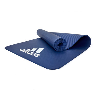 adidas blue fitness mat