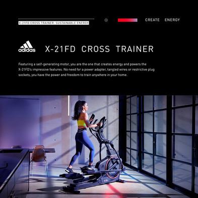adidas X-21FD Cross Trainer Sustainable Energy
