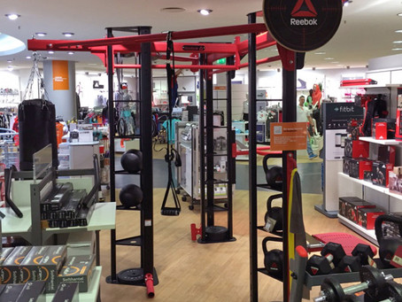 Successful Reebok Functional Install At SportScheck Store, Germany