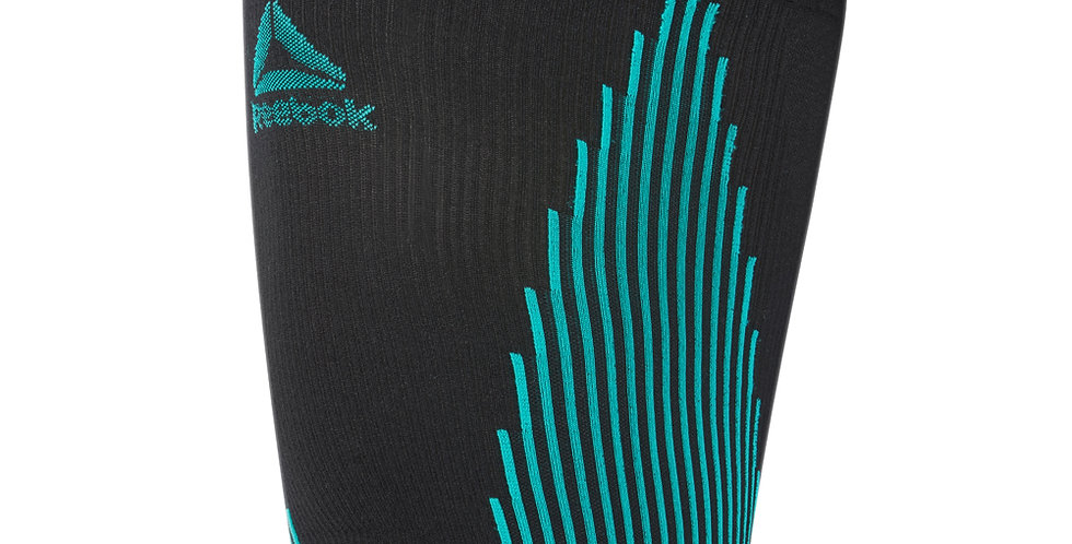Reebok running knitted compression thigh sleeves