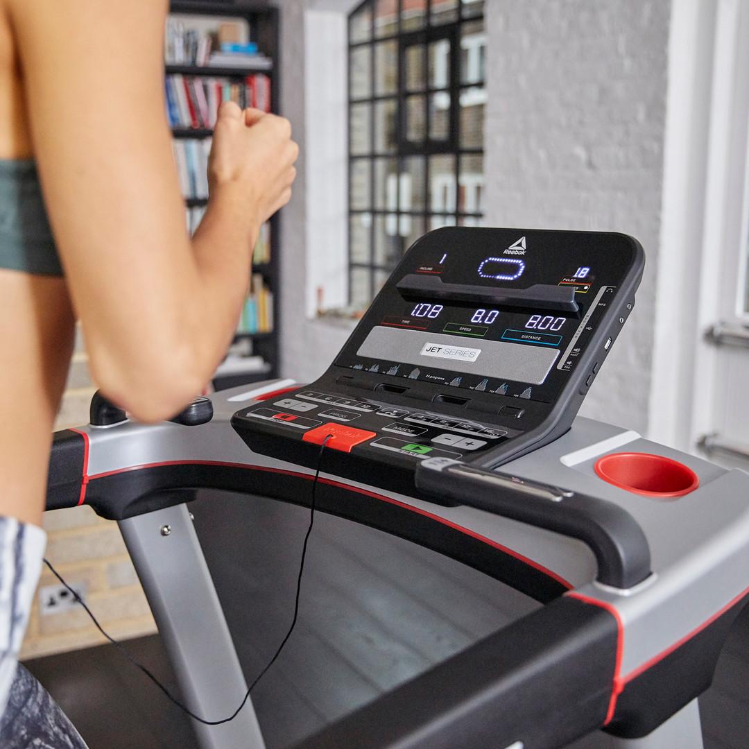 Reebok Jet 100 + Treadmill