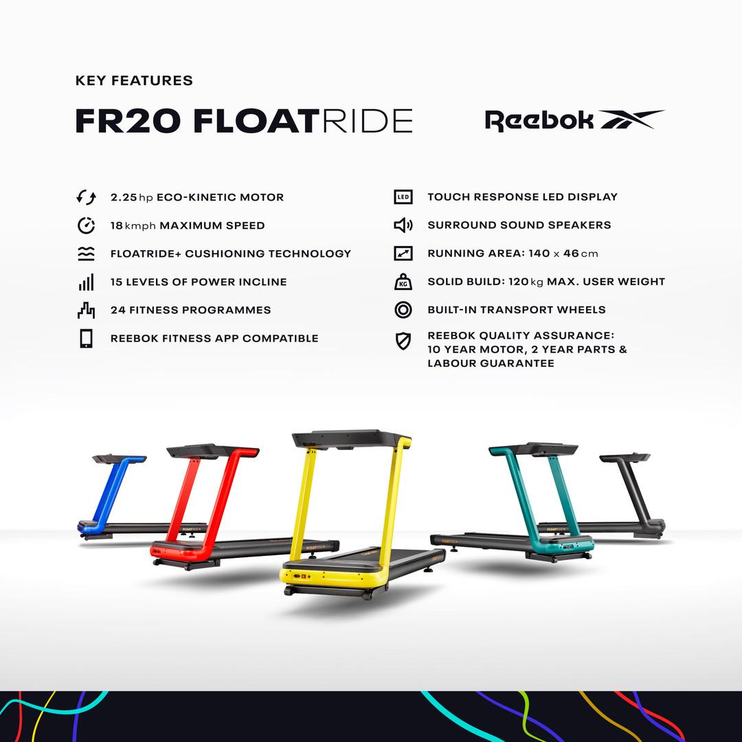 FR20 Treadmill Specs