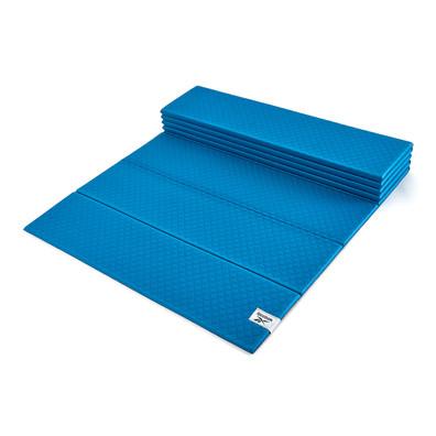 Reebok 6mm blue foldable yoga mat