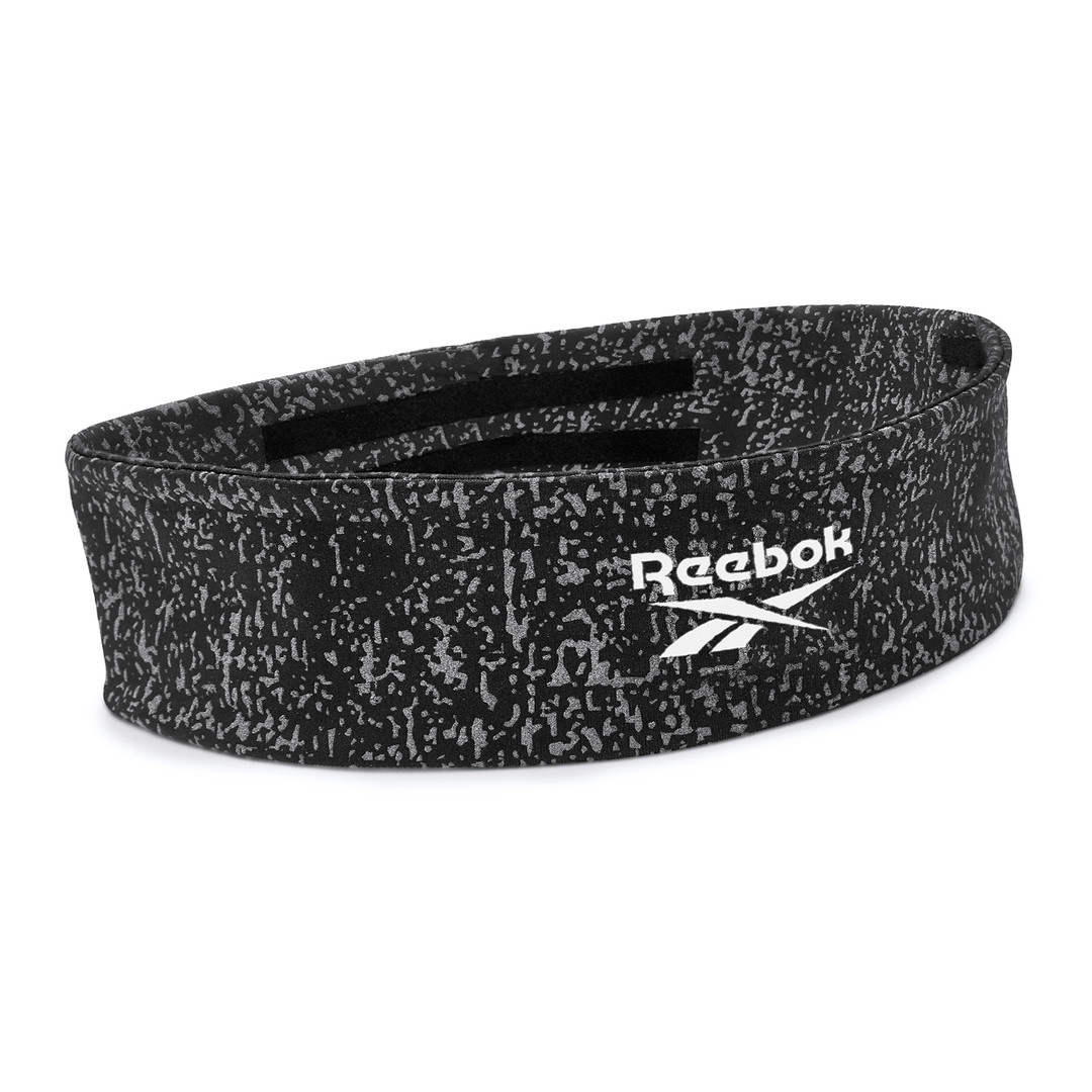 Reebok yoga black patterned headband