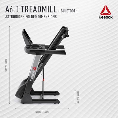 Reebok A6.0 Treadmill Folded Dimensions