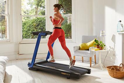 Reebok Blue Floatride Treadmill