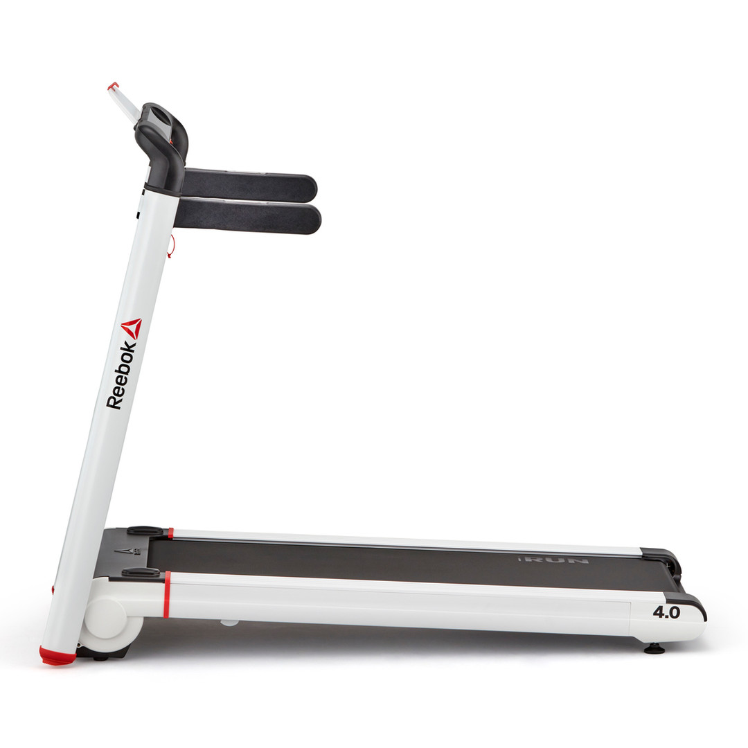 i-Run 4.0 Compact White Treadmill
