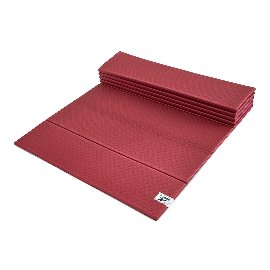 Reebok 6mm red foldable yoga mat