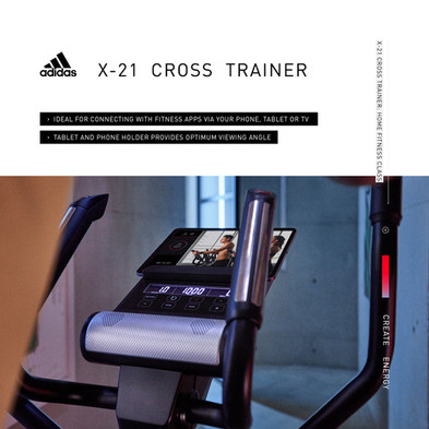 adidas X-21 Cross Trainer Home Fitness