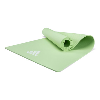 adidas 8mm lime green yoga mat