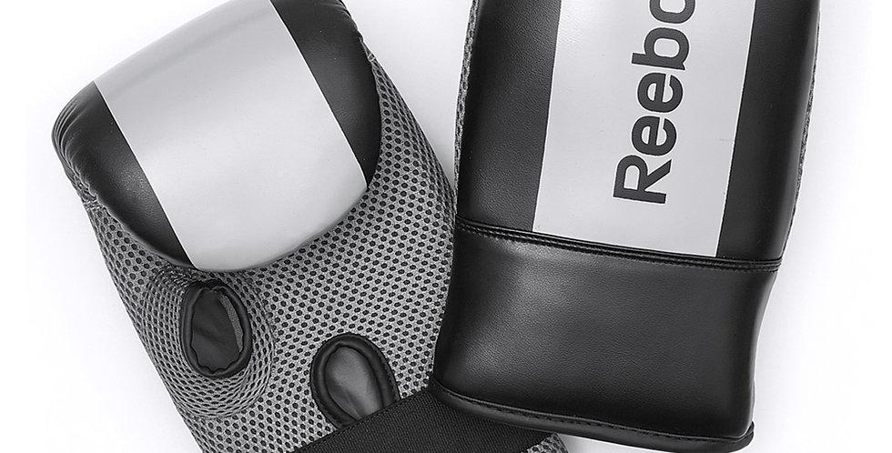 Reebok combat grey boxing mitts