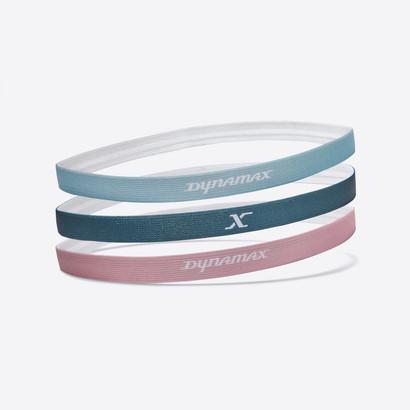 Azure Green, Chalky Pink & Blue Mist Headbands