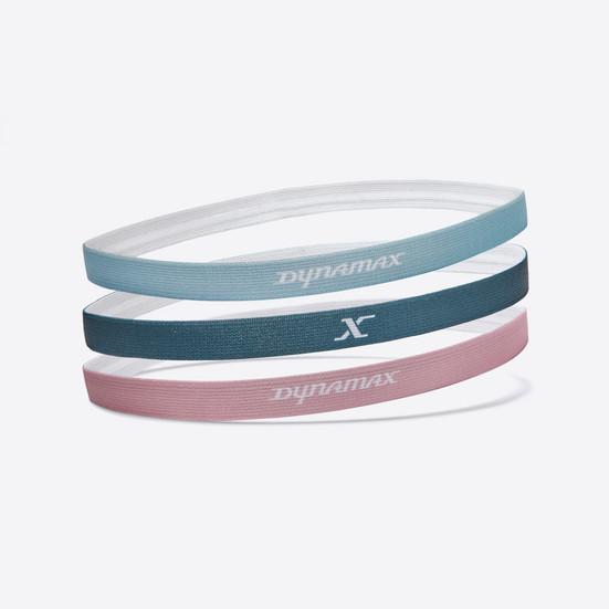 Dynamax Fitness Headbands - Azure Green / Chalky Pink / Blue Mist