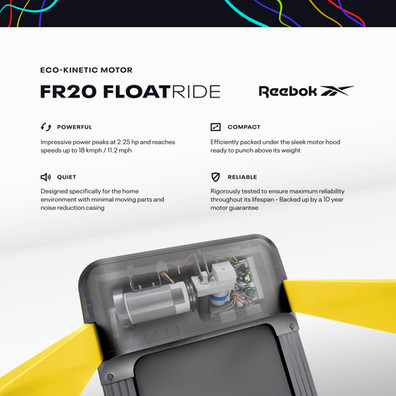 FR20 Treadmill Motor