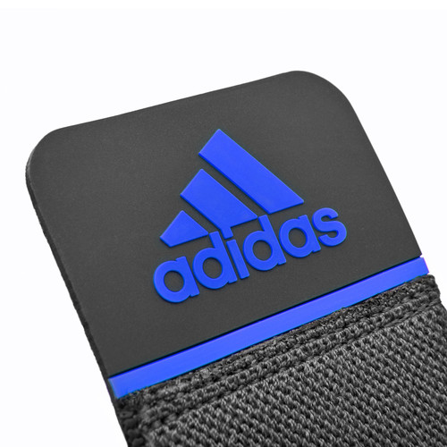 adidas knee support wrap blue