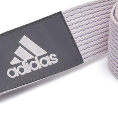 Chalk White Yoga Strap