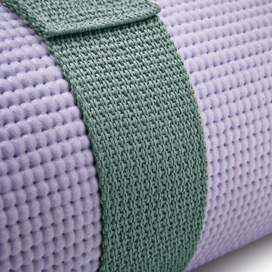 Green Reebok yoga mat carry strap