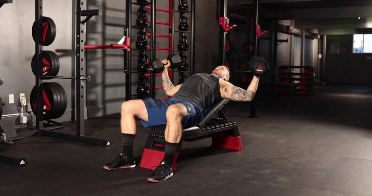 Reebok Deck Workout Bench