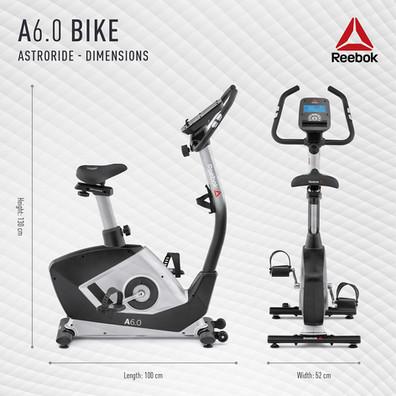 Reebok A6.0 Bike Dimensions