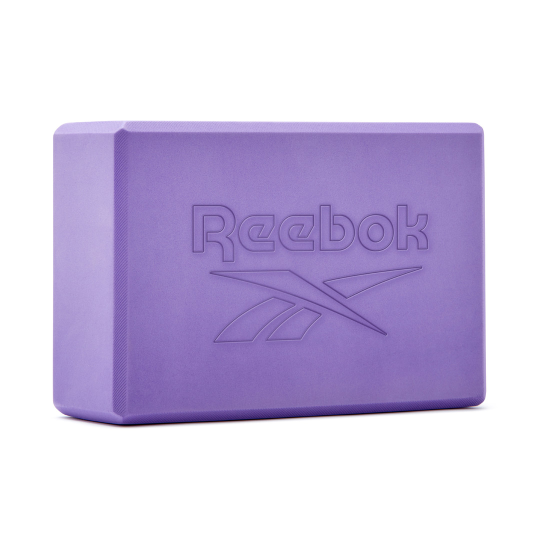 Reebok purple foam yoga block