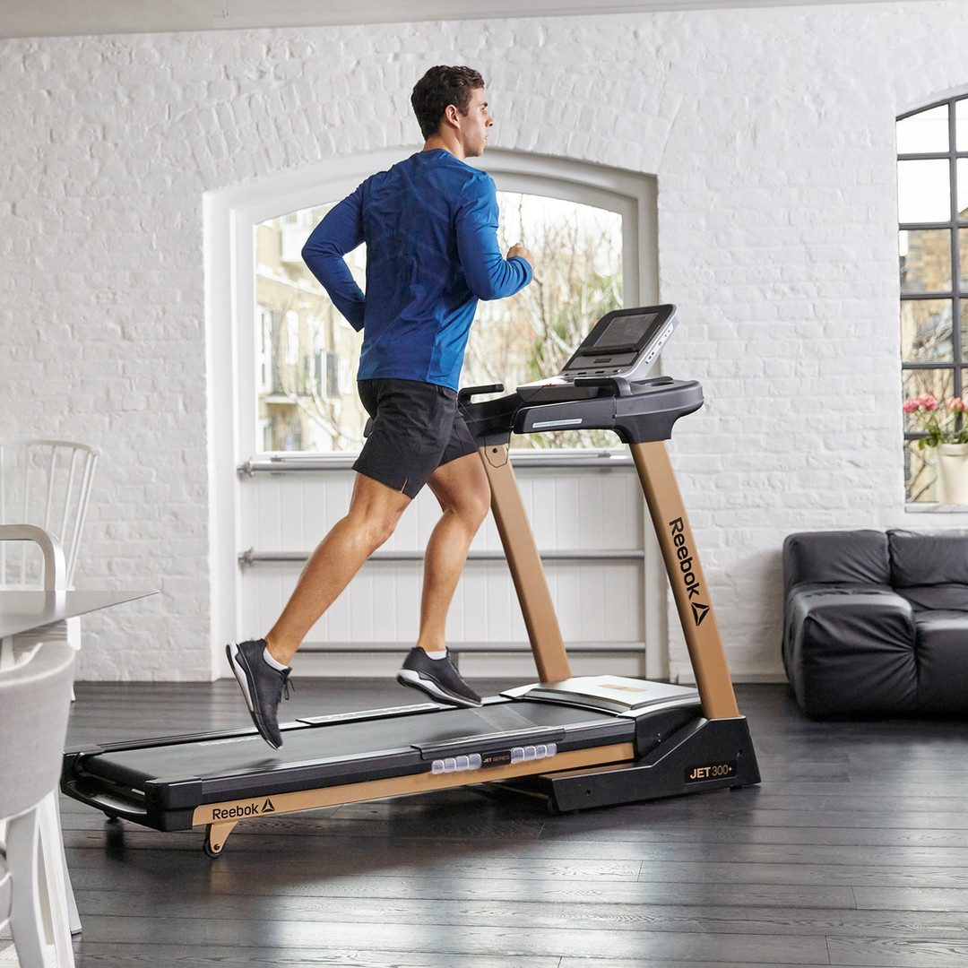 Reebok Jet 300 + Gold Treadmill