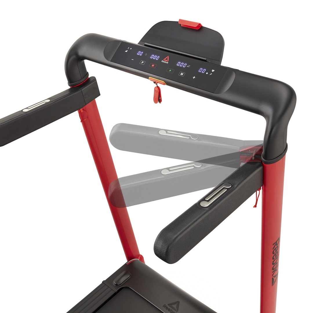 i-Run 4.0 Compact Red Treadmill