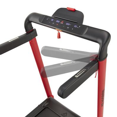 i-Run 4.0 Compact Red Treadmill