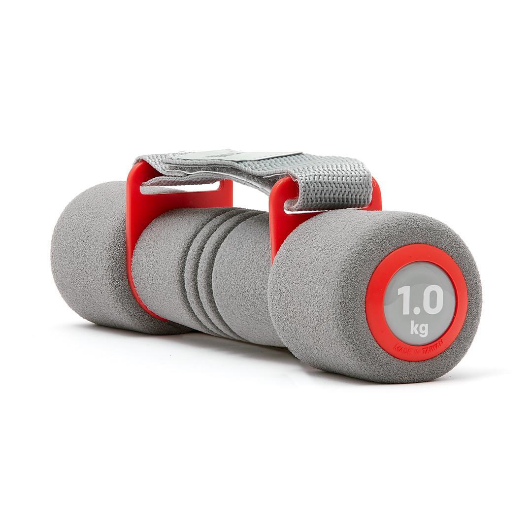 Reebok Softgrip Dumbbells - 1kg