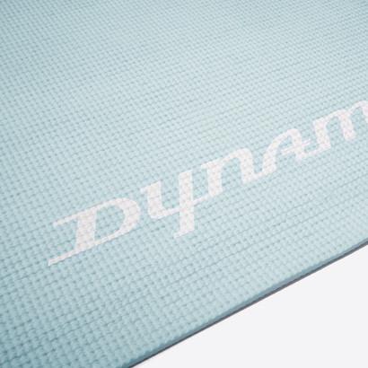 Light blue yoga mat