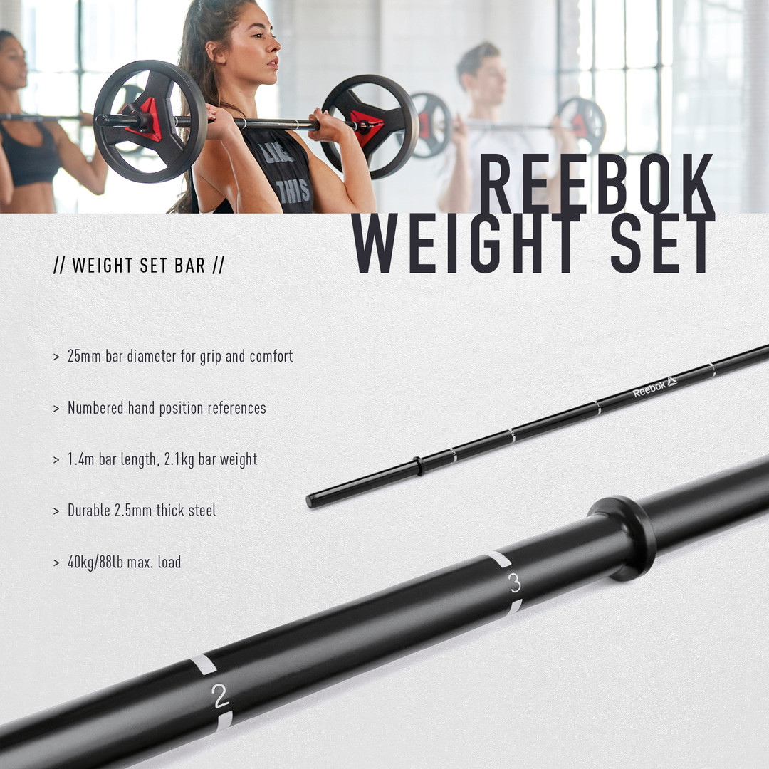 Reebok Weight Set Bar
