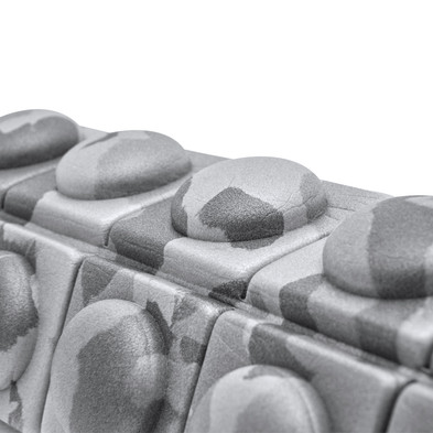 Mini Texured Foam Roller - Grey Camo