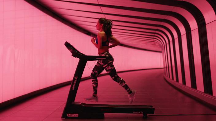 Reebok ZJET 430 Treadmill Video